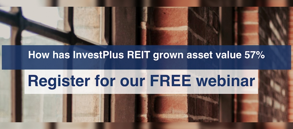 InvestPlus REIT Grows Asset Value by 57%